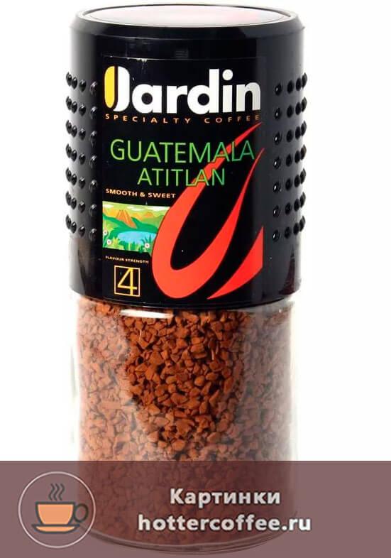 Сублимированный кофе Jardin