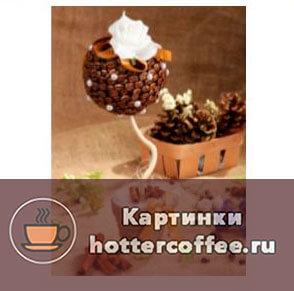 Как выглядит кофейных топиарий