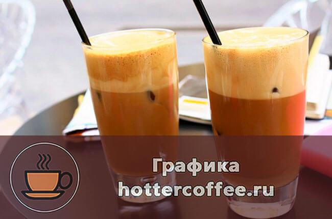 Рецепт кофе фраппе в домашних условиях
