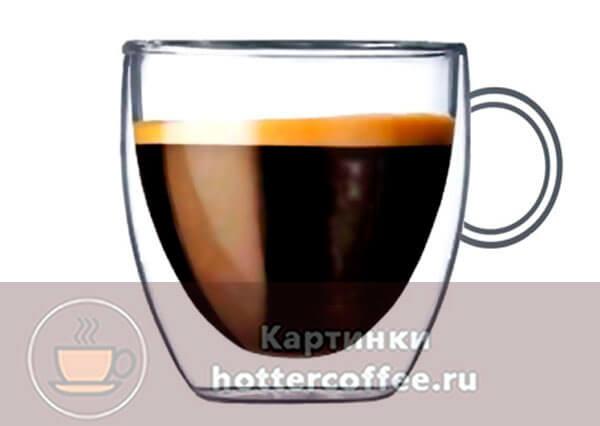 Форма чашки демитассе
