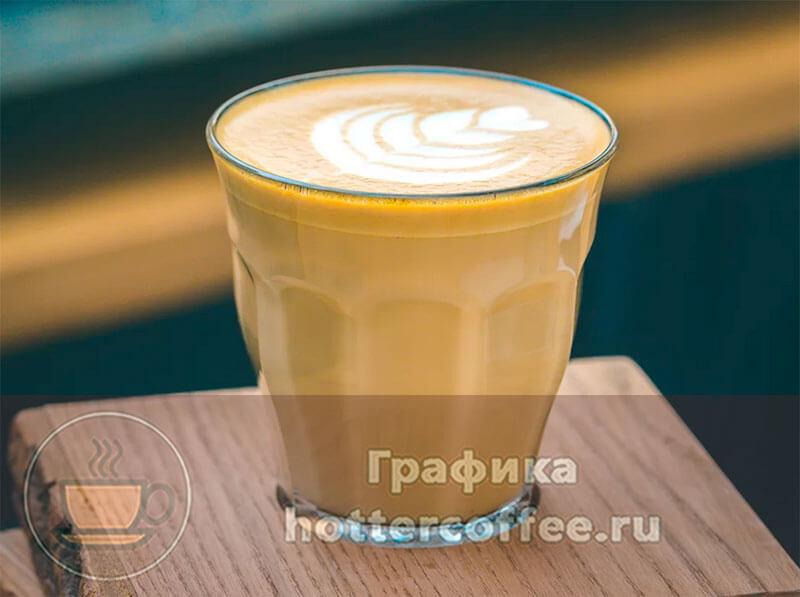 Рецепт кофе флэт уайт