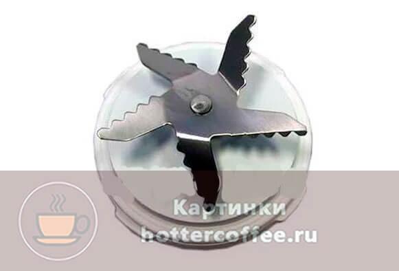 Ножи для блендера с пятью лопастями, способные перемолоть кофейные зерна
