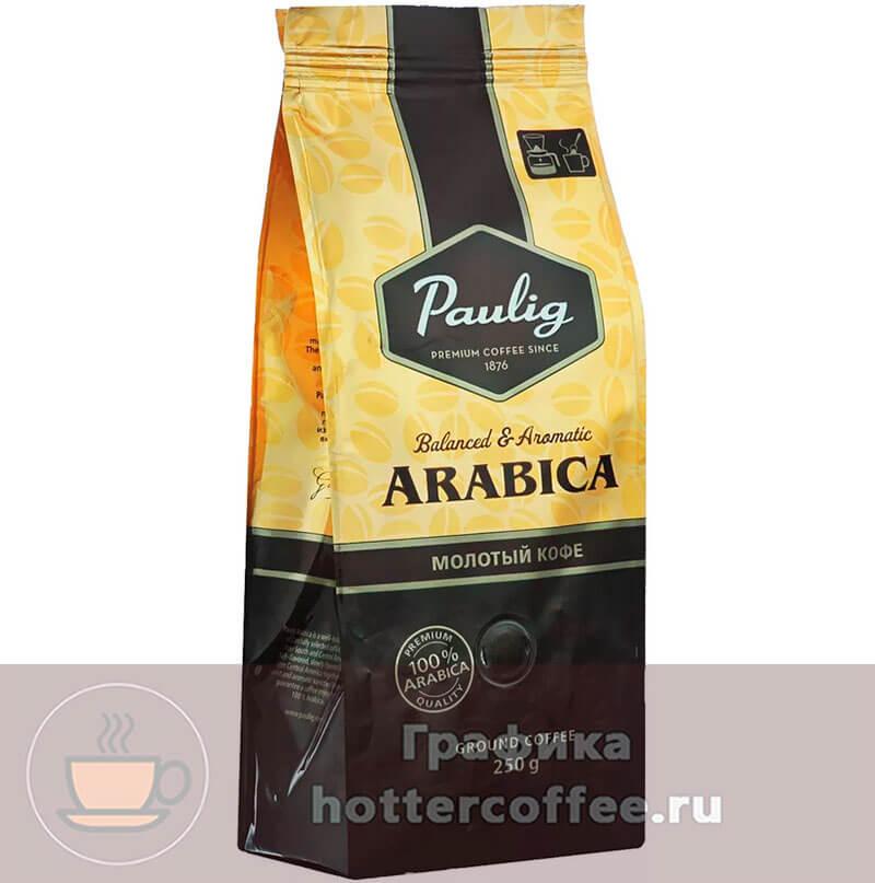 Молотый кофе Paulig