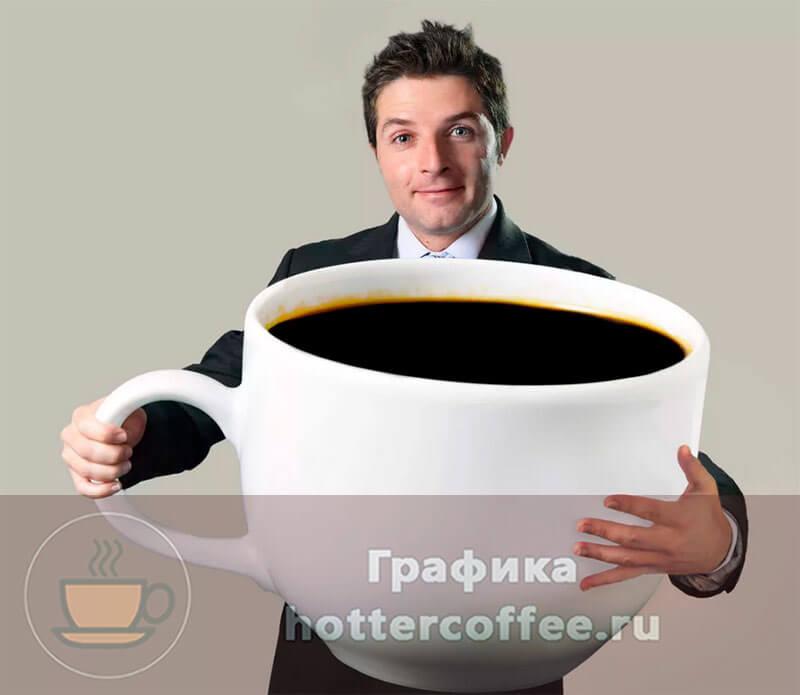 Если выпить слишком много кофе, ваше состояние ухудшится