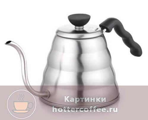 Чайник для заваривания кофе, методом пуровер