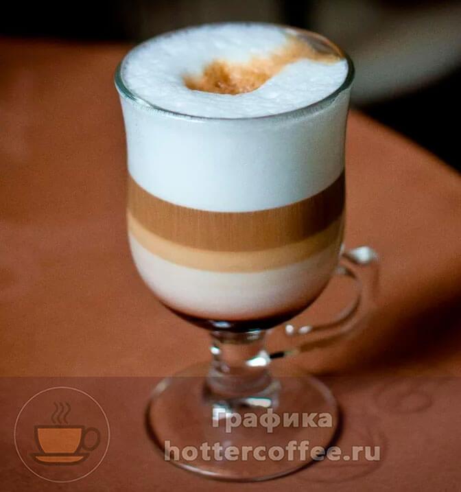Порция кофе мокачино