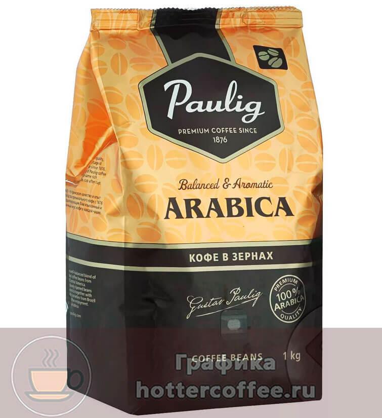 Зерновой кофе Paulig
