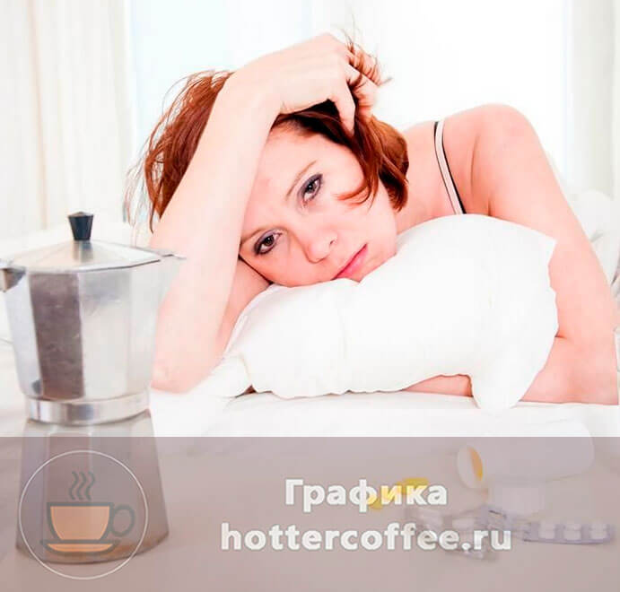 Как кофе влияет на месячные