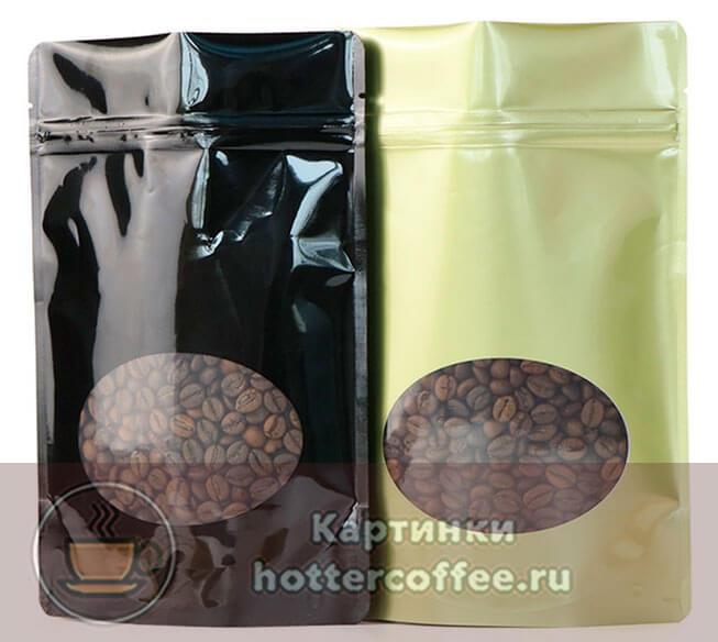 Герметичная упаковка, позволяющая продлить срок годности зернового кофе