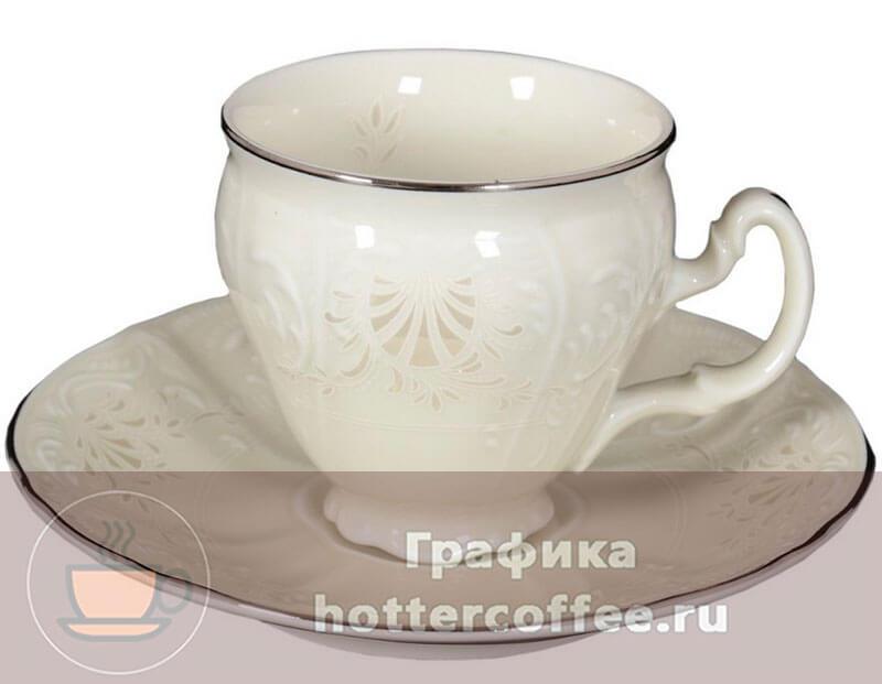 Пример классической кофейной посуды